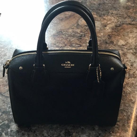 17ab49572660 Coach Handbags - Coach Mini Bennett black (authentic)